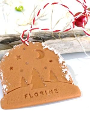 décoration sapin boule de neige