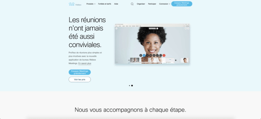 screenshot webex