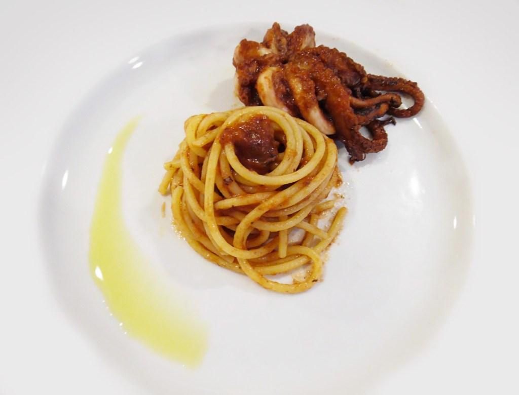RIcetta Spaghetti con i Moscardini