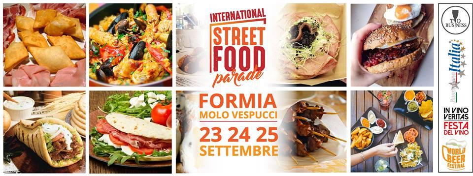 Street Food Parade a Formia – Molo Vespucci