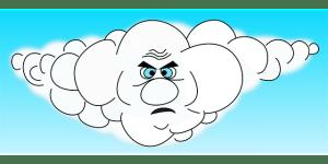 Comment faire partir un nuage rempli de colère ?