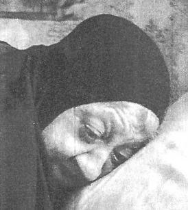 foto in bianco nero di Madre Makaria