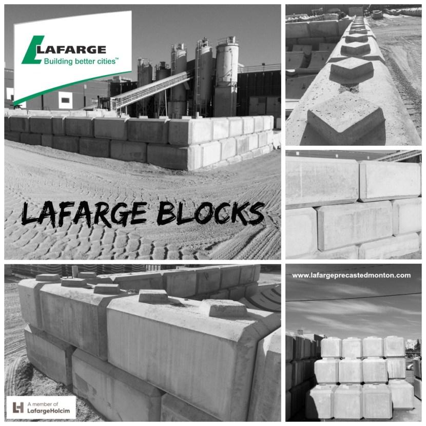 Precast Concrete Retaining Wall Blocks : Concrete blocks edmonton lafarge precast alberta