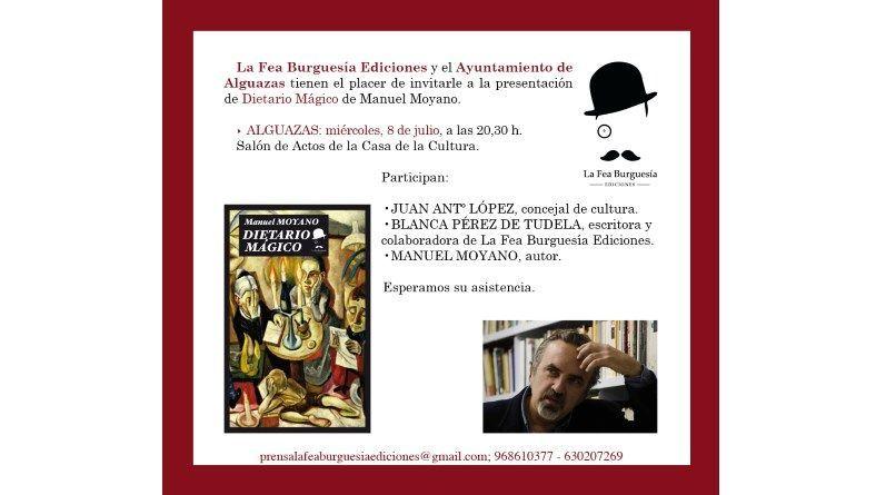 """Presentación de """"Dietario Mágico"""" de Manuel Moyano en Alguazas"""