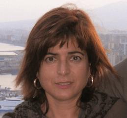 """Isabel María Abellán autora de """"Isidro"""""""