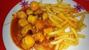 Recette saucisse curry
