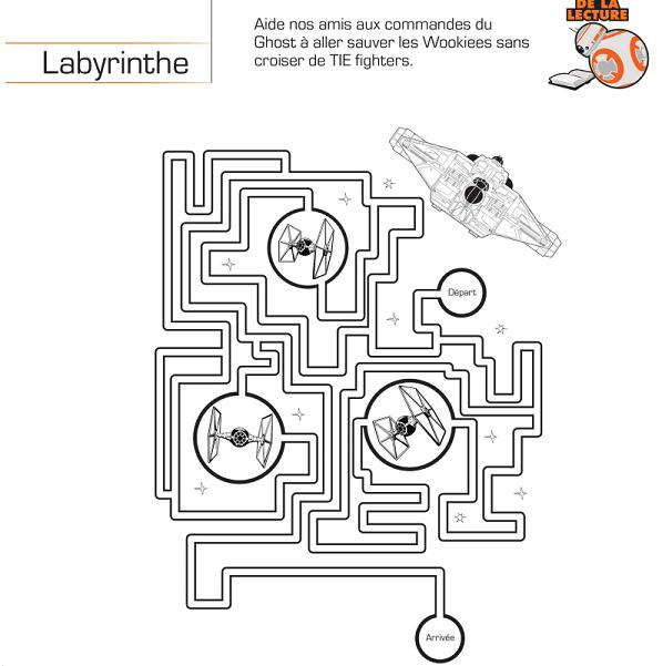 labyrinthe star wars