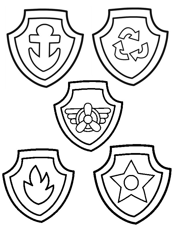 badge de la pat patrouille
