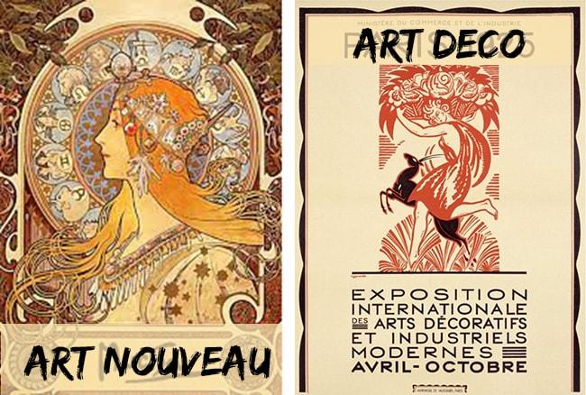 art déco ou art nouveau
