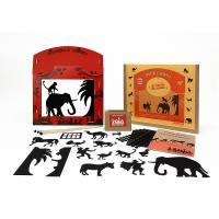 Théâtre d'ombres pour enfants sur des histoires d'animaux