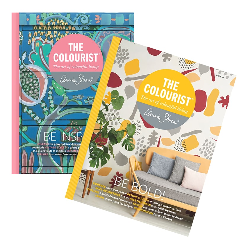 magazines The Colourist #1 et #2 d'Annie Sloan