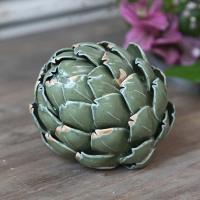 Artichaut décoratif en céramique