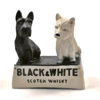Plâtre publicitaire vintage Black & White