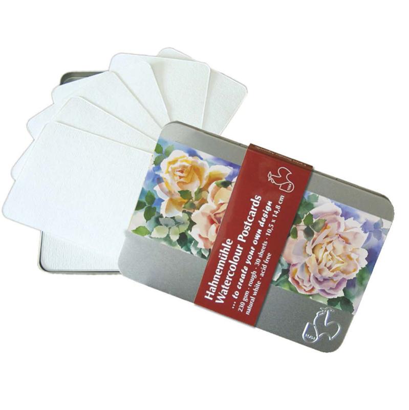 Box Cartes postales à peindre - aquarelle