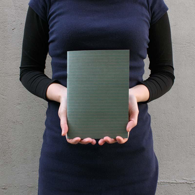 Cahier couverture kraft A5
