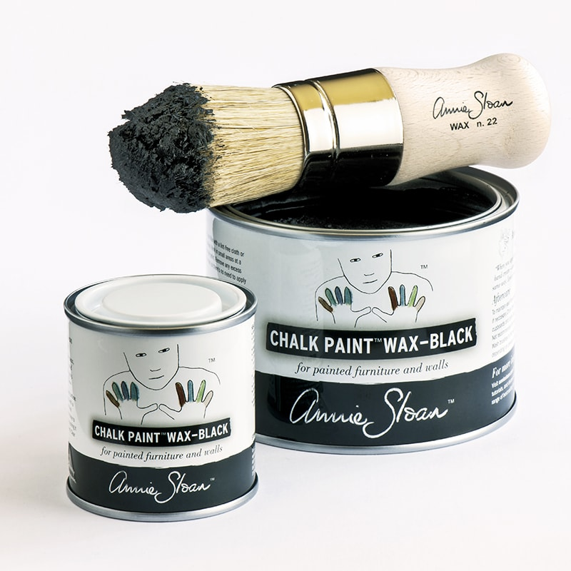 cire wax de la collection chalk paint d'Annie Sloan