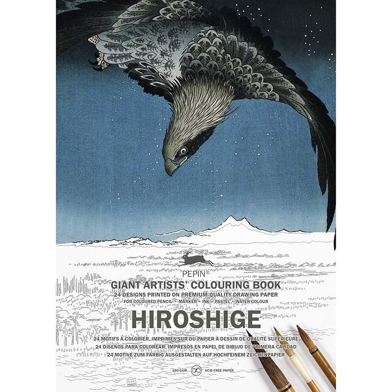 Coloring book géant HIROSHIGE