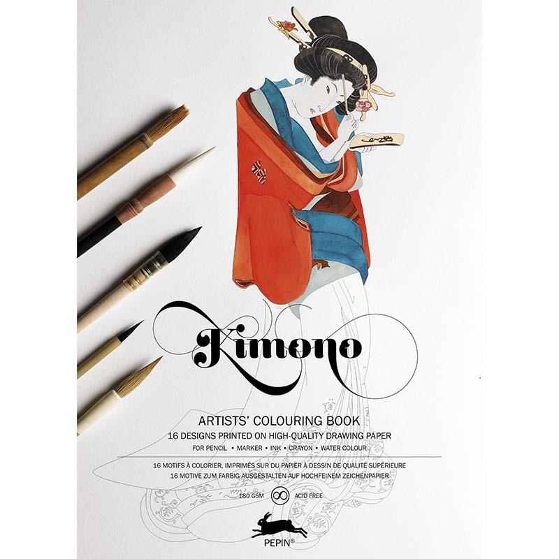 Coloring book KIMONO