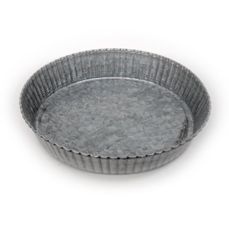 Plateau moule à tarte en métal galvanisé EVERYDAY