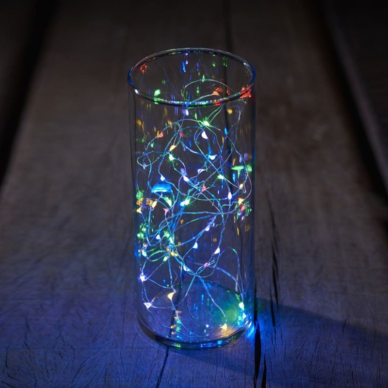 Guirlande multicolore 20 LED