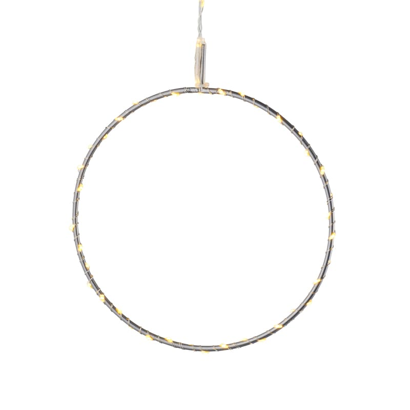 Cercle lumineux suspension Liva Circle fond blanc La Fée Caséine