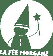 La Fée Morgane logo blanc