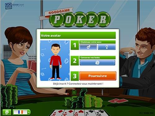 Poker en ligne gratuit sans téléchargement Goodgamepoker