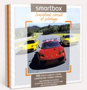 smarbox coffret stage pilotage