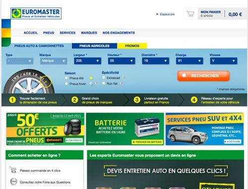 Code promo Euromaster réduction soldes 2017