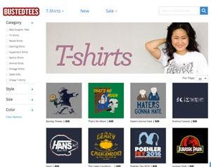 Top des sites de t-shirts originaux, insolites ou humoristiques