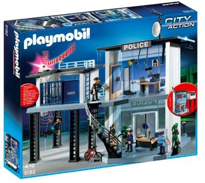 Playmobil 5182 Commissariat avec système d'alarme