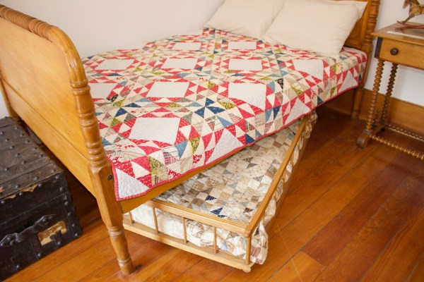 Trundle Bed at the Eagle Bluff Lighthouse