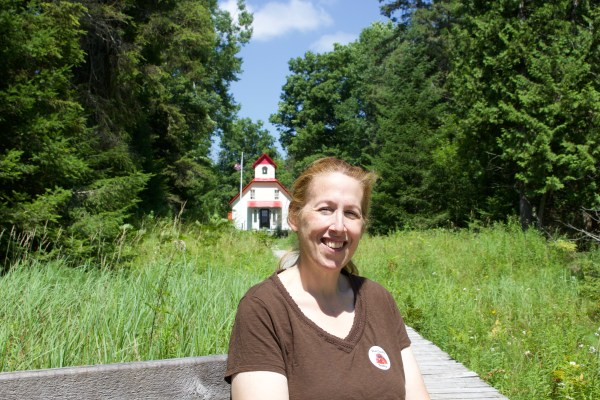 Christine and the Upper Range Light