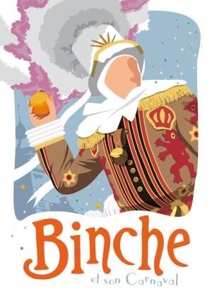 Affiche Binche et son carnaval