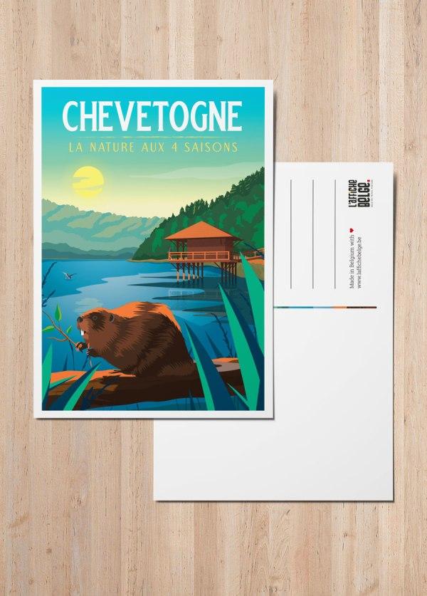Chevetogne - La nature aux 4 saisons