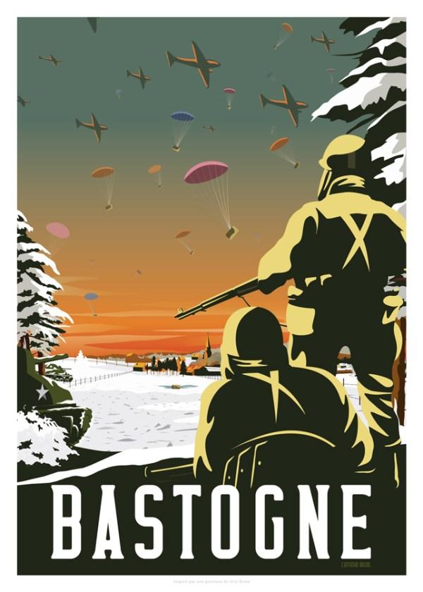 Affiche Bastogne