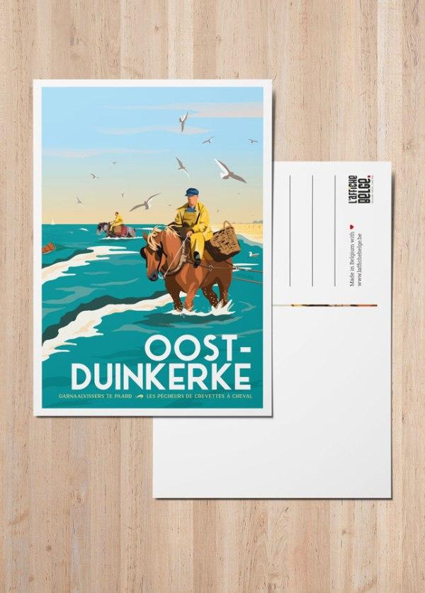 Carte postale Oostduinkerke