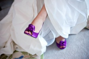 Chaussures mariage violettes - La Fiancee du Panda blog mariage