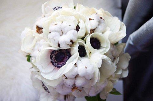 Bouquet de mariee hiver anemones coton joli-5150