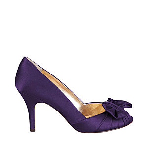d37eed884a8 Chaussures de mariee violettes peep-toe