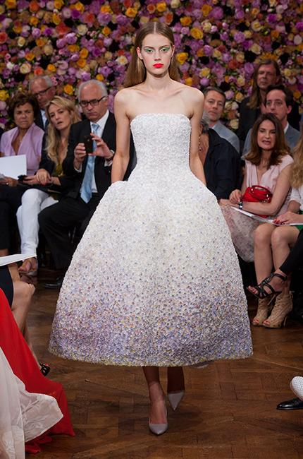 Robe de mariee annees 50 Dior Raf Simons