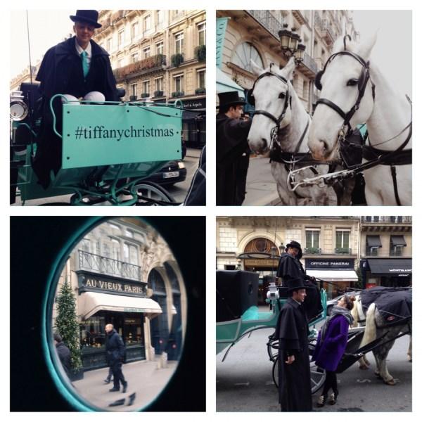 Tiffany caleche christmas Paris - LaFianceeduPanda.com