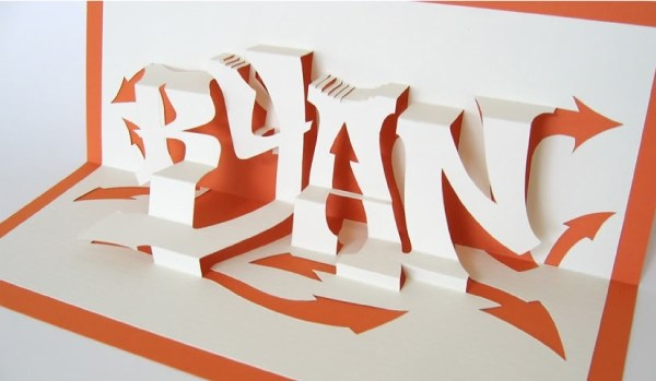 Kirigami papier decoupe - La Fiancee du Panda Blog mariage 6
