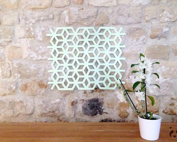 DIY origami backdrop photobooth deco mariage - La Fiancee du Panda Blog Mariage et Lifestyle