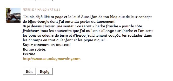 My Jolie Candle concours - La Fiancee du Panda blog Mariage et Lifestyle