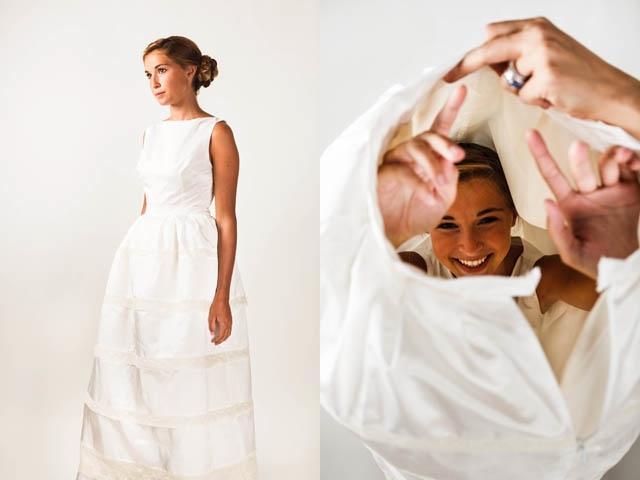 Marion Kenezi robe de mariee courte sur mesure - La Fiancee du Panda Blog Mariage et Lifestyle-