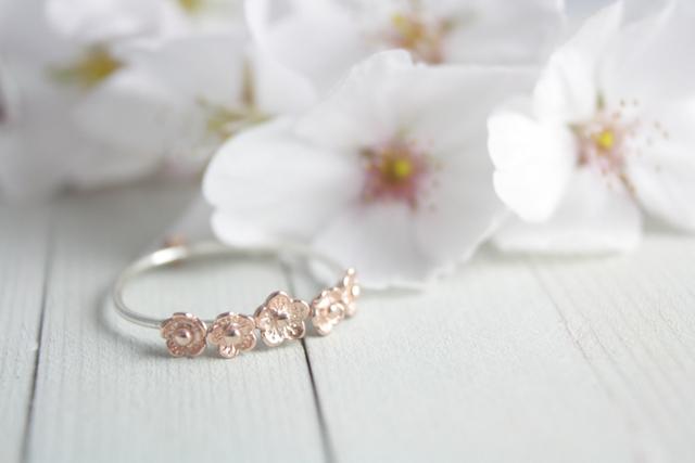 Fabuleux L'envie du samedi: une bague fine en or rose sur Etsy DF08