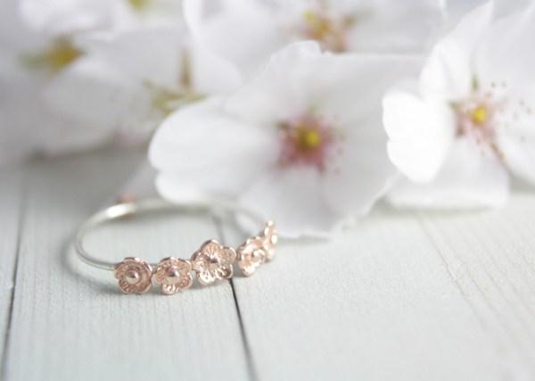 Etsy Bague fine fleurs or rose - La Fiancee du Panda blog mariage et lifestyle-3