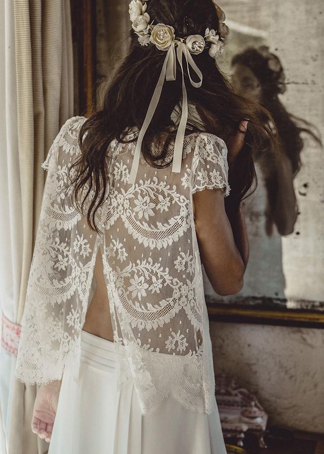 Laure de Sagazan robe de mariee top Lynch, jupe Brisseau et couronne Dumas collection 2015 chez Maria Luisa Mariage x Printemps - La Fiancee du Panda blog mariage & lifestyle-1174