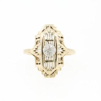 Bague-diamants-or-vintage-LanieLynnVintage-Etsy-La-Fiancee-du-Panda-blog-Mariage-et-Lifestyle